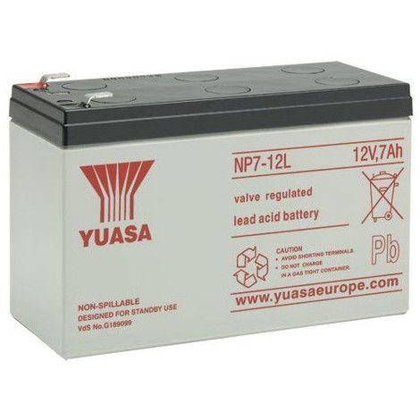 Batterie plomb étanche NP7-12L Yuasa 12v 7ah