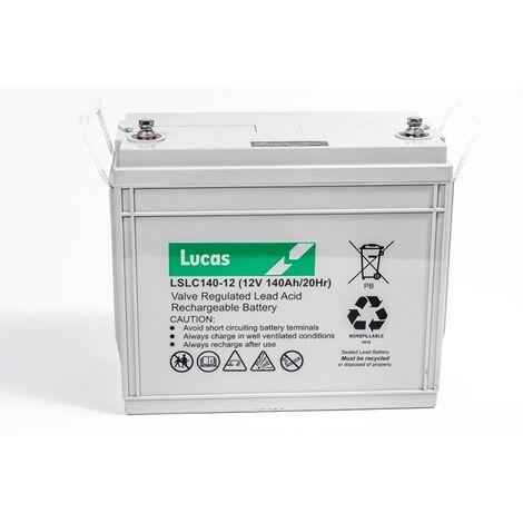 Batterie Plomb /étanche Stationnaire et Cyclage VRLA AGM LSLC34-12 12V 34Ah Lucas