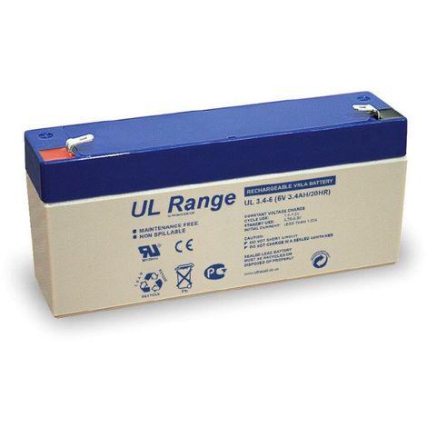 Batterie plomb étanche UL3.4-6 Ultracell 6v 3.4h