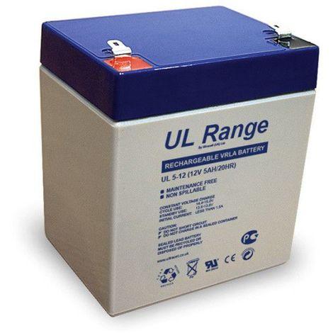 Batterie plomb étanche UL5-12 Ultracell 12v 5ah
