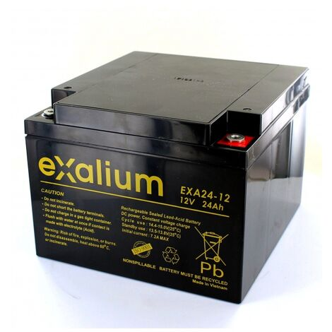 Batterie plomb Exalium 12V 24Ah EXA24-12