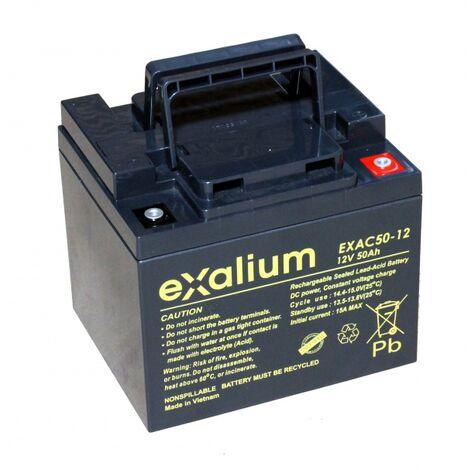 Batterie plomb Exalium 12V 50Ah EXAC50-12