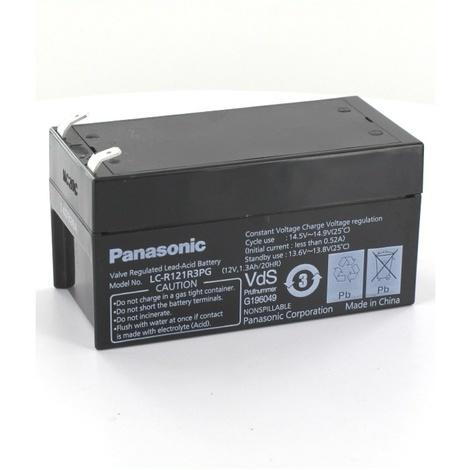 Batterie plomb Panasonic 12V 1.3Ah LC-R121R3PG