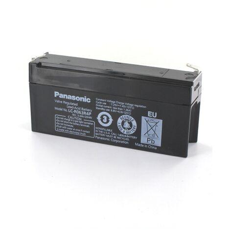 Batterie Plomb Panasonic 6V 3.4Ah LC-R063R4P