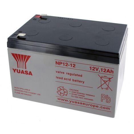 Batterie Plomb Yuasa 12V 12Ah NP12-12