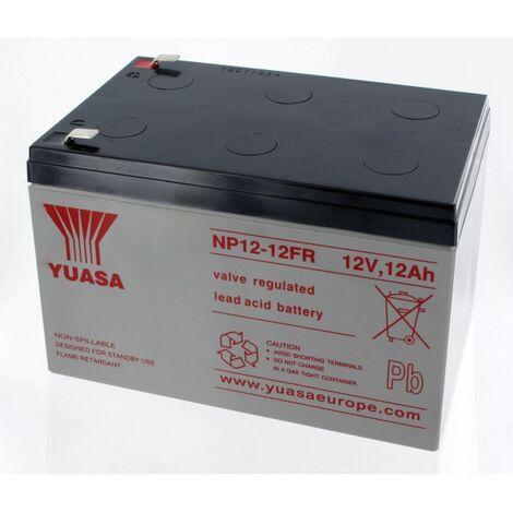 Batterie Plomb Yuasa 12V 12Ah NP12-12FR