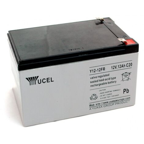 Batterie Plomb Yuasa 12V 12Ah Y12-12FR
