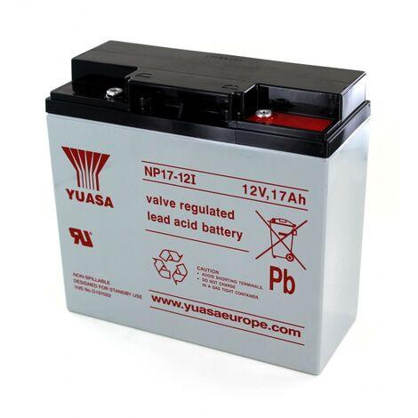 "main image of ""Batterie Plomb Yuasa 12V 17Ah NP17-12"""