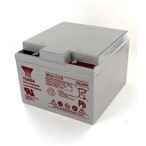 Batterie Plomb Yuasa 12V 24Ah NP24-12IFR