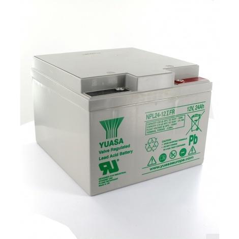 Batterie Plomb Yuasa 12V 24Ah NPL24-12FR