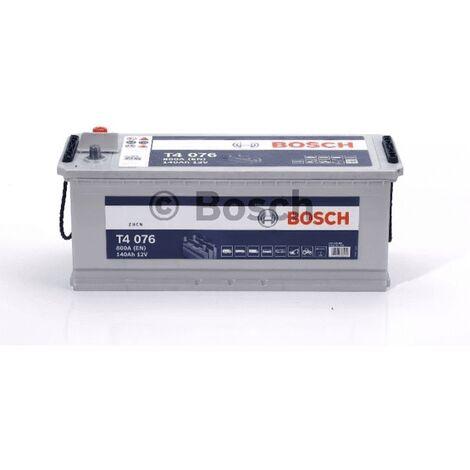 Batterie poids lourd Bosch 12V 140 Ah 800 A Réf: 0092T40760