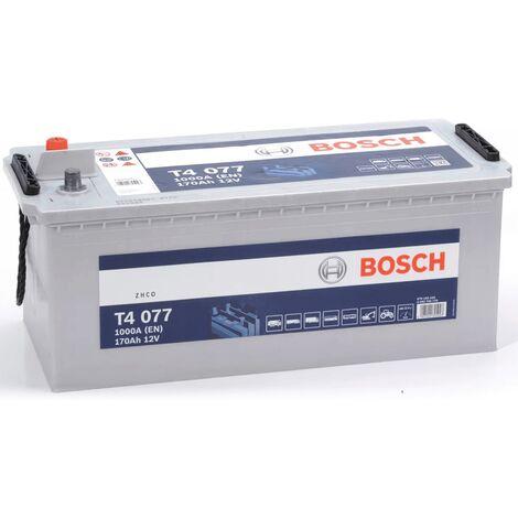 Batterie poids lourd Bosch 12V 170 Ah 1000 A Réf: 0092T40770