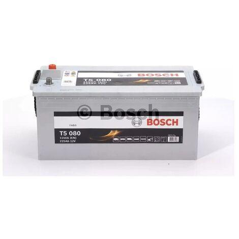Batterie poids lourd Bosch 12V 225 Ah 1150 A Réf: 0092T50800