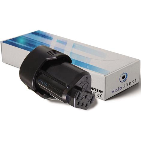 Batterie pour AEG BSS12C visseuse sans fil 2000mAh 12V