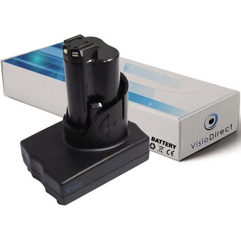 Batterie pour AEG Milwaukee 2411-22 marteau perforateur/visseuse 3000mAh 12V