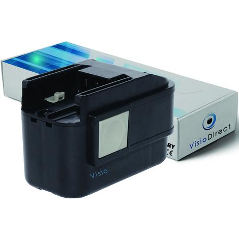 Batterie pour AEG P9.6 perceuse visseuse AEG Milwaukee 2000mAh 9.6V