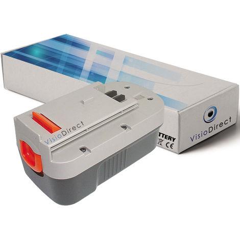 Batterie pour Black et decker EPC18CABK 18V 1500mAh - Visiodirect -