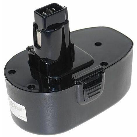 Batterie pour Black&Decker Ni-MH 18V 2000mAh (A)
