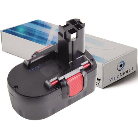 Batterie pour Bosch GHO 14.4V H rabot sans fil 3000mAh 14.4V