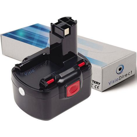 Batterie pour Bosch GLI 12V GSB 12 VE-2 PSB 12 VE-2 GLI12V PLI12V 3000mAh 12V -VISIODIRECT-