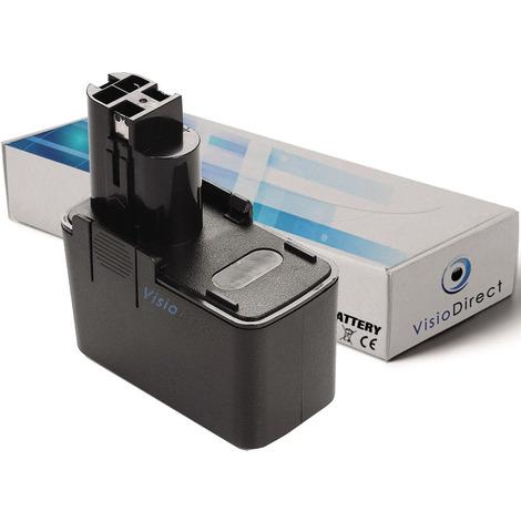 Batterie pour Bosch GSR 12V ES-3 perceuse visseuse 3000mAh 12V