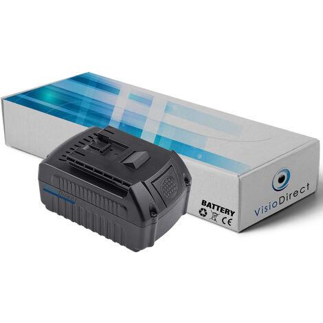 Batterie pour Bosch GWS 18 V-LI GML Soundbox, GML20 Baustellen Radio 4000mAh 18V -VISIODIRECT-