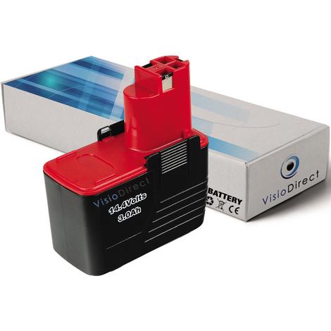 Batterie pour Bosch PSR perceuse visseuse 14.4 VES-2 3000mAh 14.4V