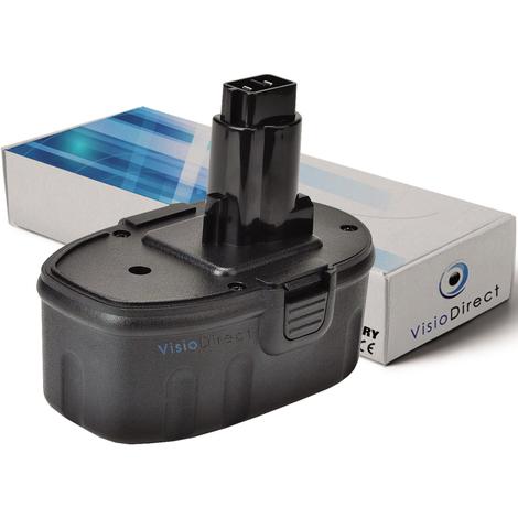 Batterie pour DEWALT DC729KA perceuse visseuse 3000mAh 18V