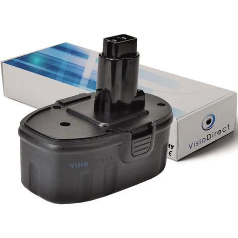 Batterie pour DEWALT DW906 lampe torche 3000mAh 14.4V