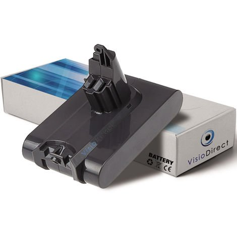 Batterie pour Dyson V6 Up Top aspirateur sans fil 1500mAh 21.6V - Visiodirect -