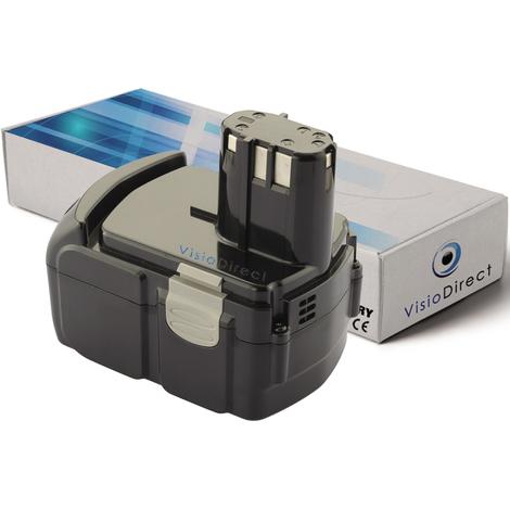 Batterie pour Hitachi G 18DLX meuleuse sans fil 3000mAh 18V