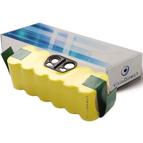 Batterie pour Irobot Auto Cleaner Intelligent Floor Vac M-488 14.4V 4500mAh - Visiodirect -