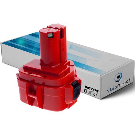 Batterie pour Makita 6217D marteau perforateur 3000mAh 12V