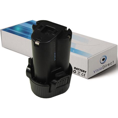 Batterie pour Makita CC330DZ carrelette sans fil 1500mAh 10.8V