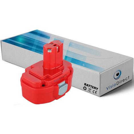 Batterie pour Makita LS800DWBE scie à onglet 3000mAh 18V