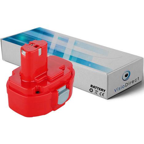 Batterie pour MAKITA ML142 Lampe torche 14.4V 3000mAh - Visiodirect -