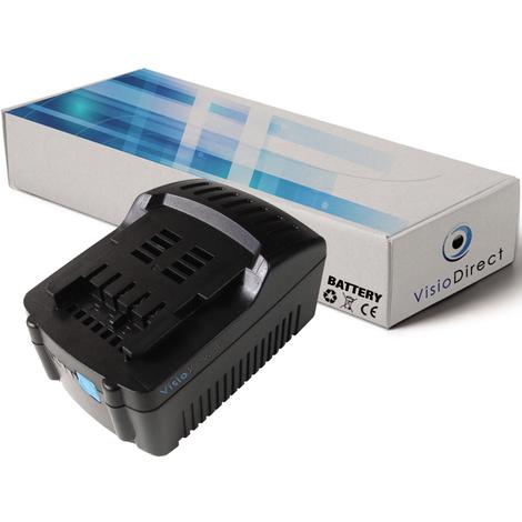 Batterie pour Metabo BS 18 LTX-X3 Quick perceuse visseuse 3000mAh 18V
