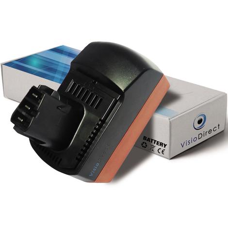 Batterie pour Metabo KSAP18Li scie circulaire 3000mAh 18V