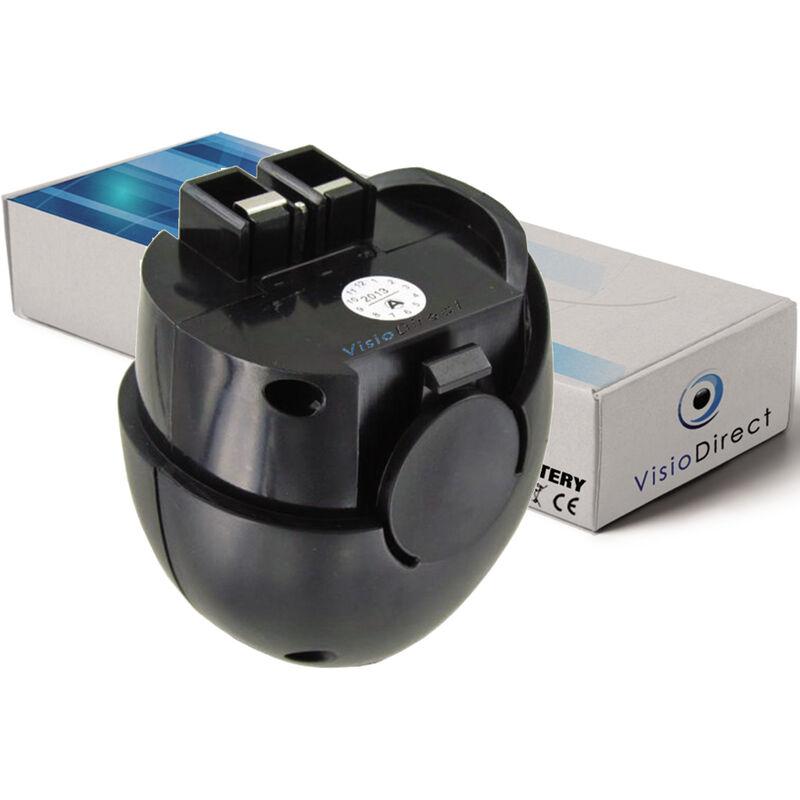 Batterie pour Metabo Powergrip lampe torche 2000mAh 4.8V