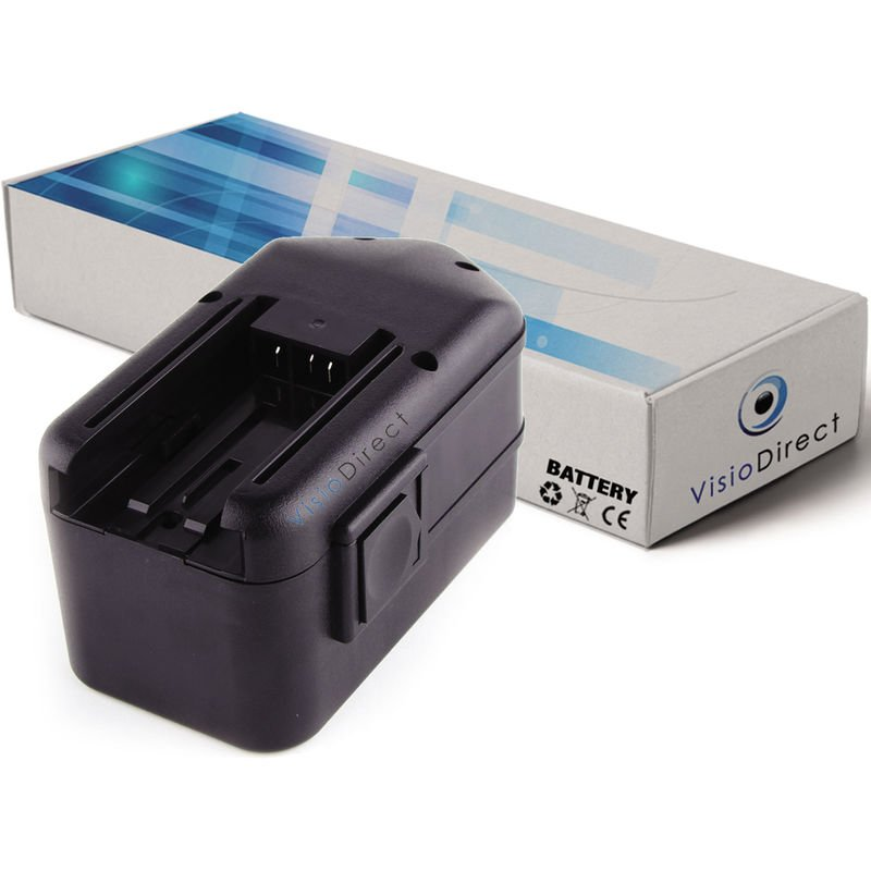 Visiodirect - Batterie pour Milwaukee 0522-21 0522-22 0522-24 0522-25 0522-52 3300mAh 18V