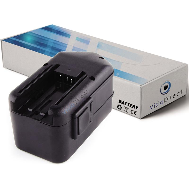 Visiodirect - Batterie pour Milwaukee 0523-20 0523-22 0524-20 0524-22 0524-24 3300mAh 18V
