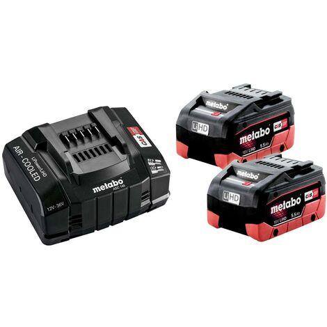 Batterie pour outil et chargeur Metabo 685190000 18 V 5.5 Ah LiHD 1 pc(s)