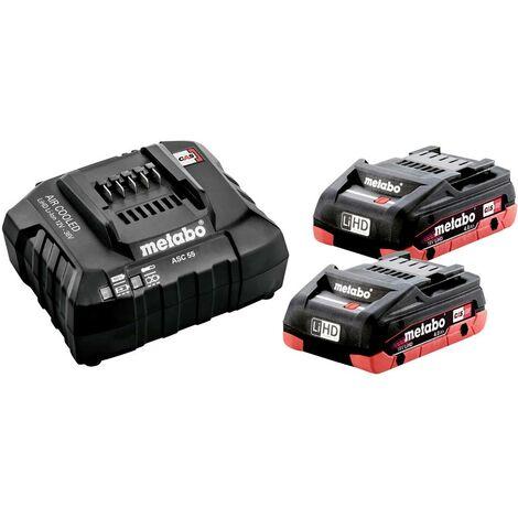 Batterie pour outil et chargeur Metabo 685191000 18 V 4 Ah LiHD 1 pc(s)