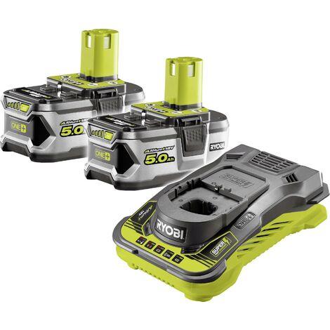 Batterie pour outil et chargeur Ryobi RC18150-250 5133004422 18 V 5 Ah Li-Ion 1 pc(s) Q546632