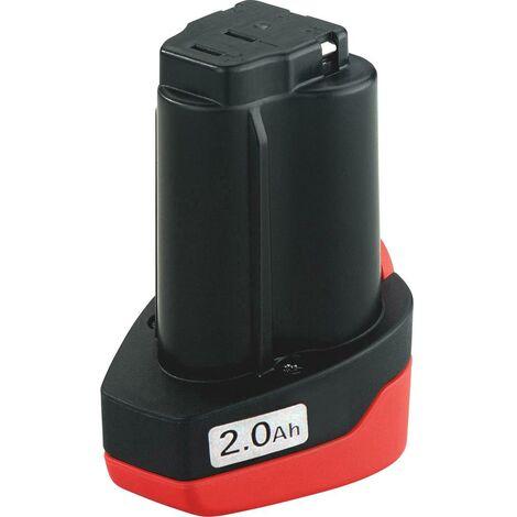 Batterie pour outil Metabo 12 V Li-Power 625438000 12 V 2 Ah Li-Ion 1 pc(s)