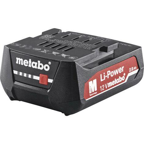 Batterie pour outil Metabo 625406000 12 V 2.0 Ah Li-Ion 1 pc(s)