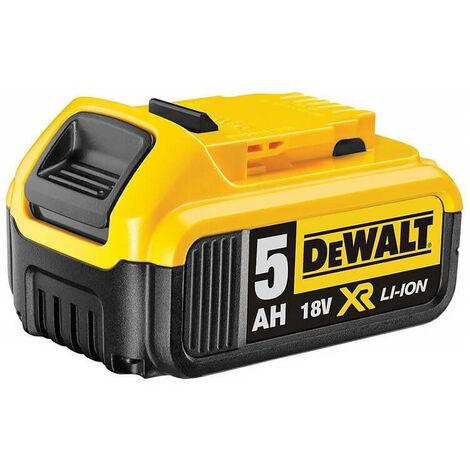 Batterie pour outil sans fil 18V XR Li-Ion 5,0 Ah - DEWALT DCB184