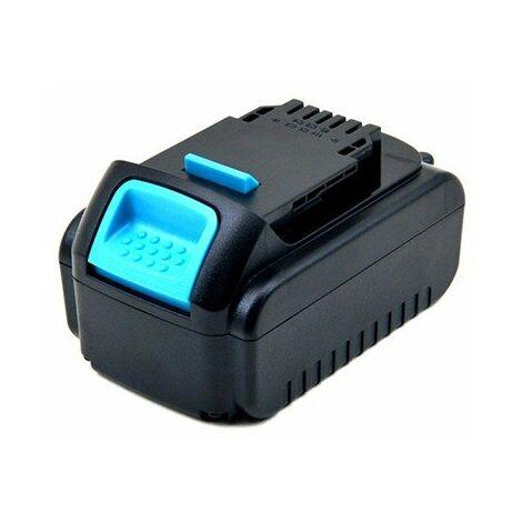 Batterie pour outillage électroportatif - 18V - 4Ah - Li-Ion - Pour Dewalt