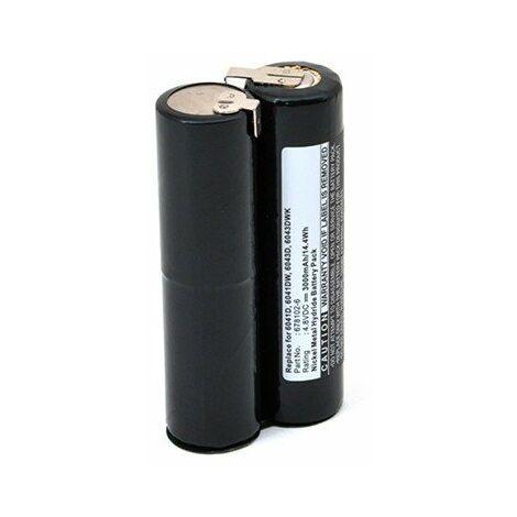 Batterie pour outillage électroportatif - 4,8V - 3Ah - NiMh