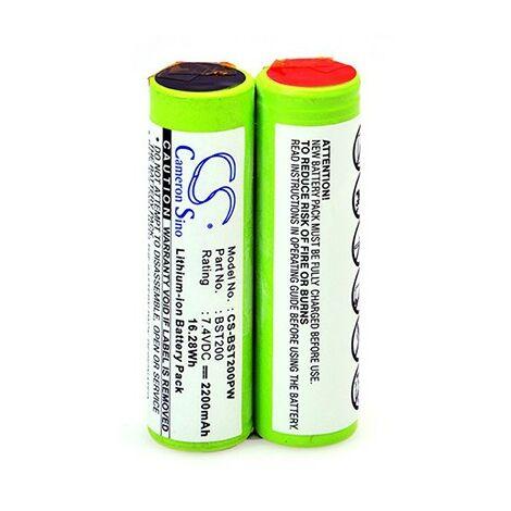 Batterie pour outillage électroportatif - 7,4V - 2,2Ah - Li-Ion